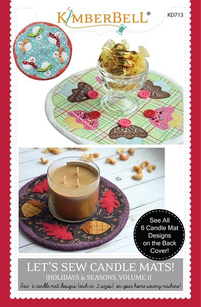 Let's Sew Candle Mats! V.1