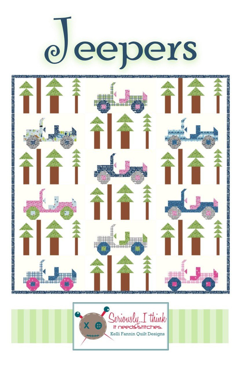 Jeepers Quilt Pattern