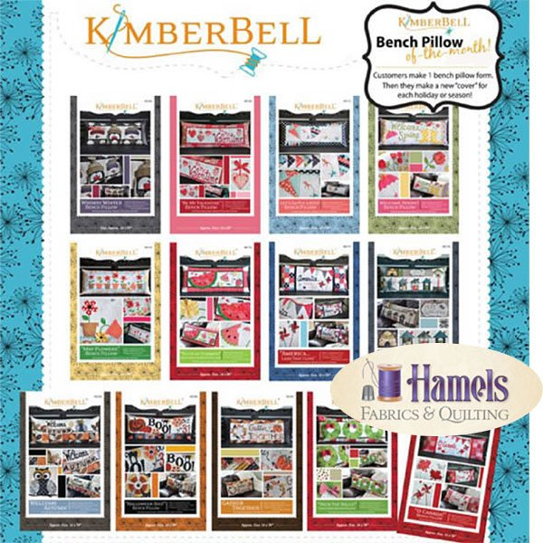 Kimberbell Bench Pillow Block of the Month