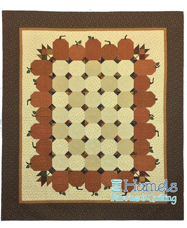 Pumpkin Seeds Quilt Kit