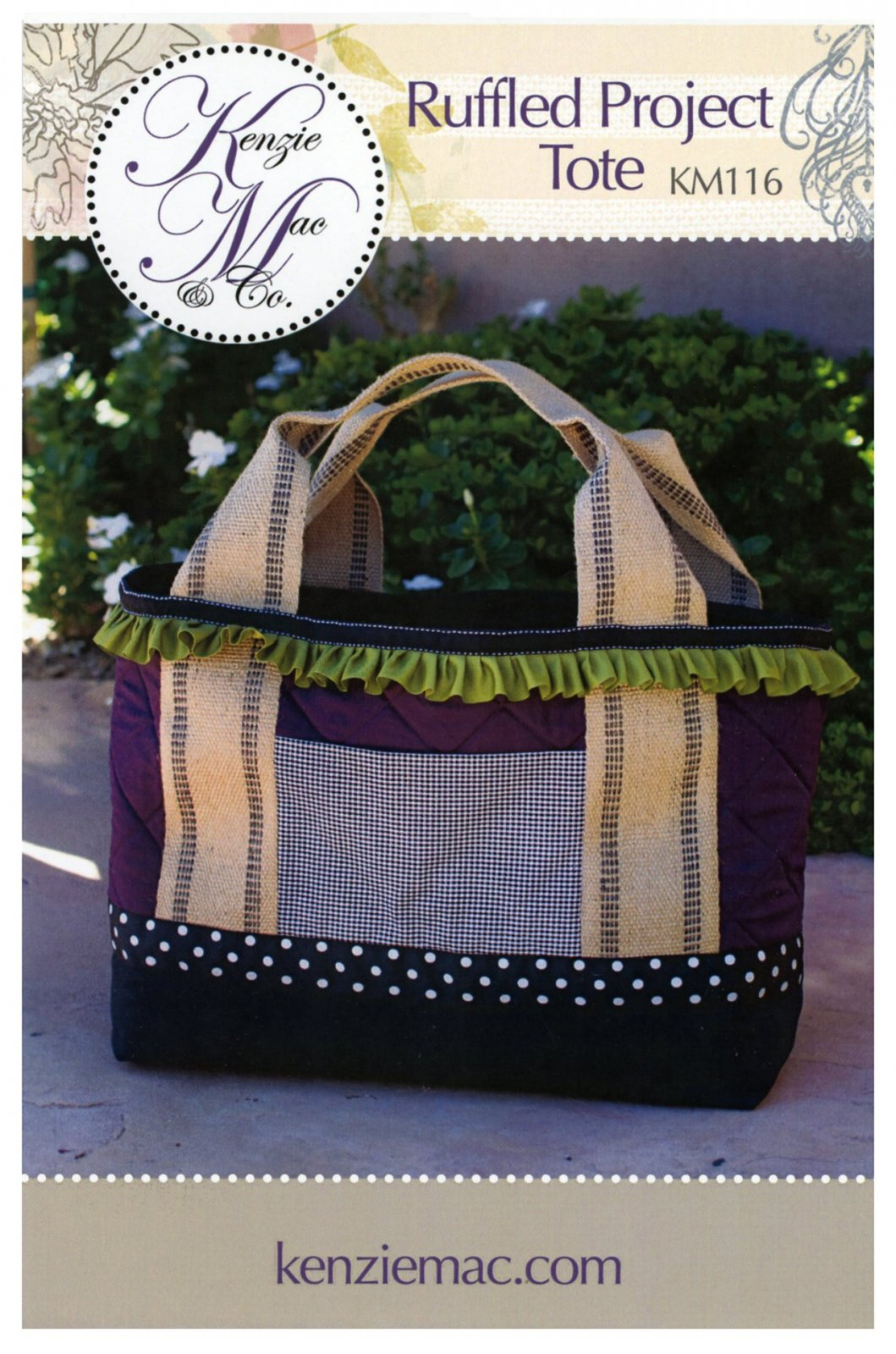 Ruffled Project Tote
