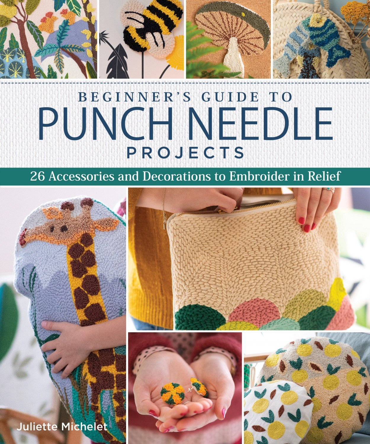 Beginner's Guide to Punch Needle Projects ~RELEASE DATE Feb 10/2020~
