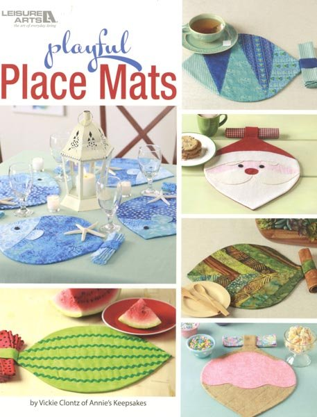 Playful Place Mats - Softcover
