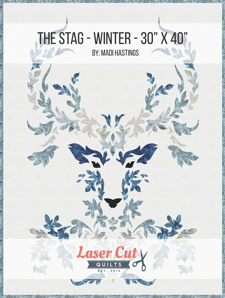 The Stag Winter Colorway Laser Cut Kit