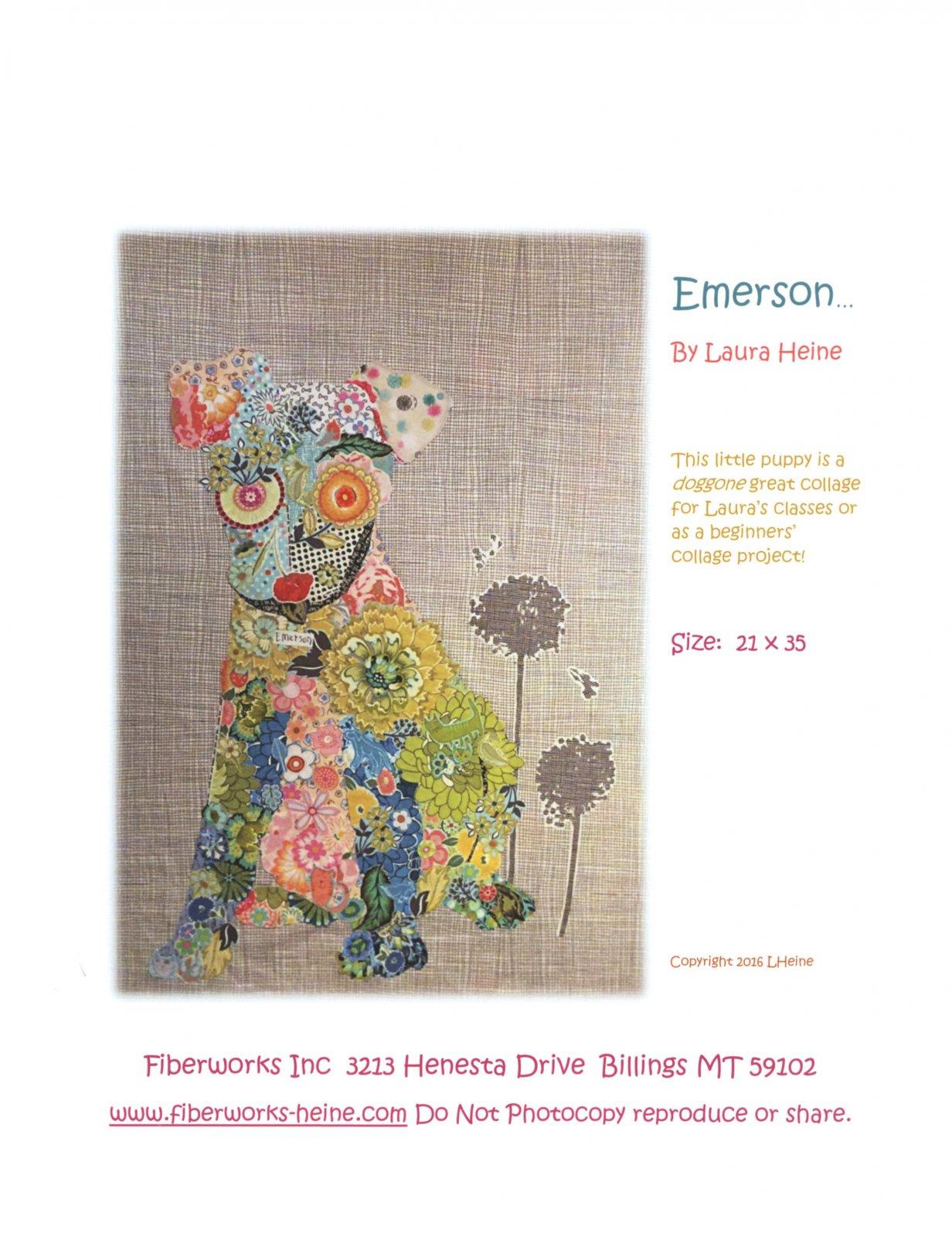 Emerson Puppy Collage