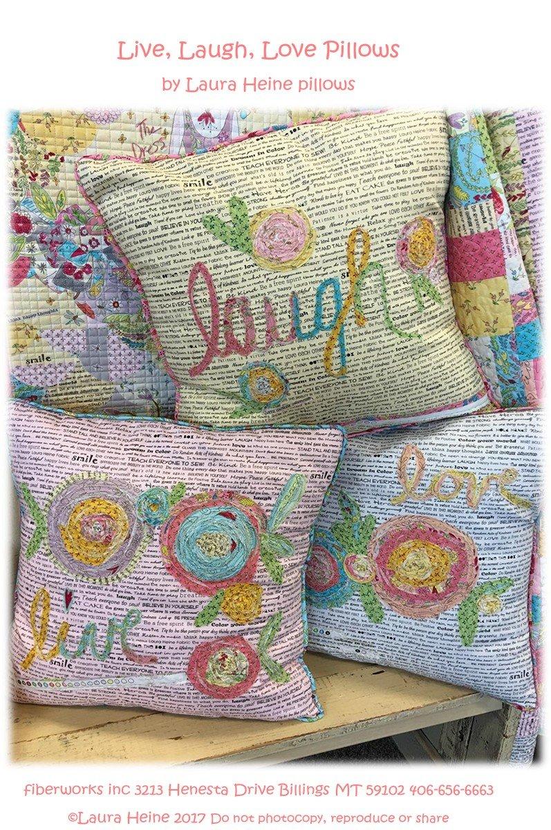 Live Laugh Love Pillows