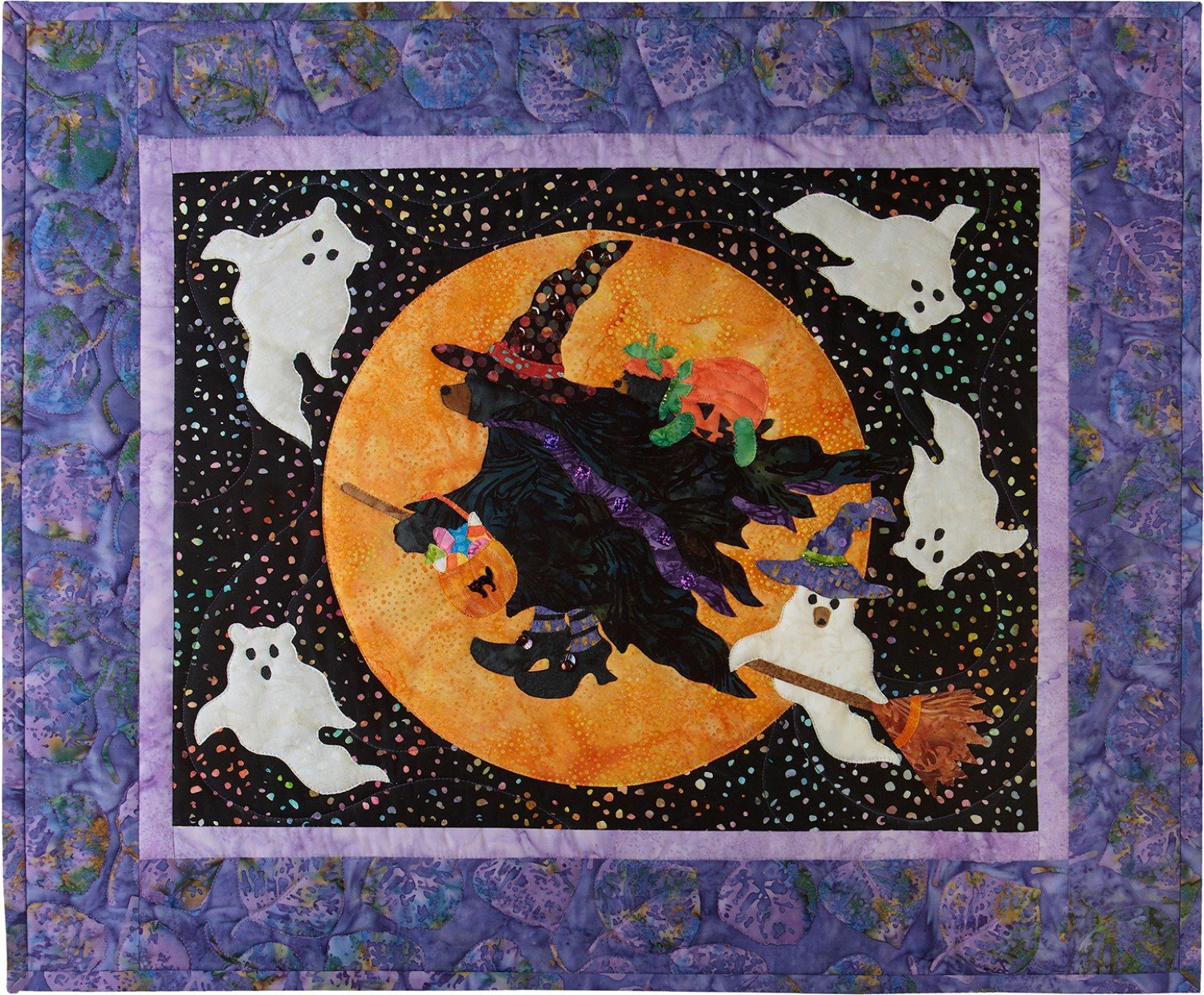 Laser Cut Fabric Kit for Beary Be Witching for 12 Months of Happy!