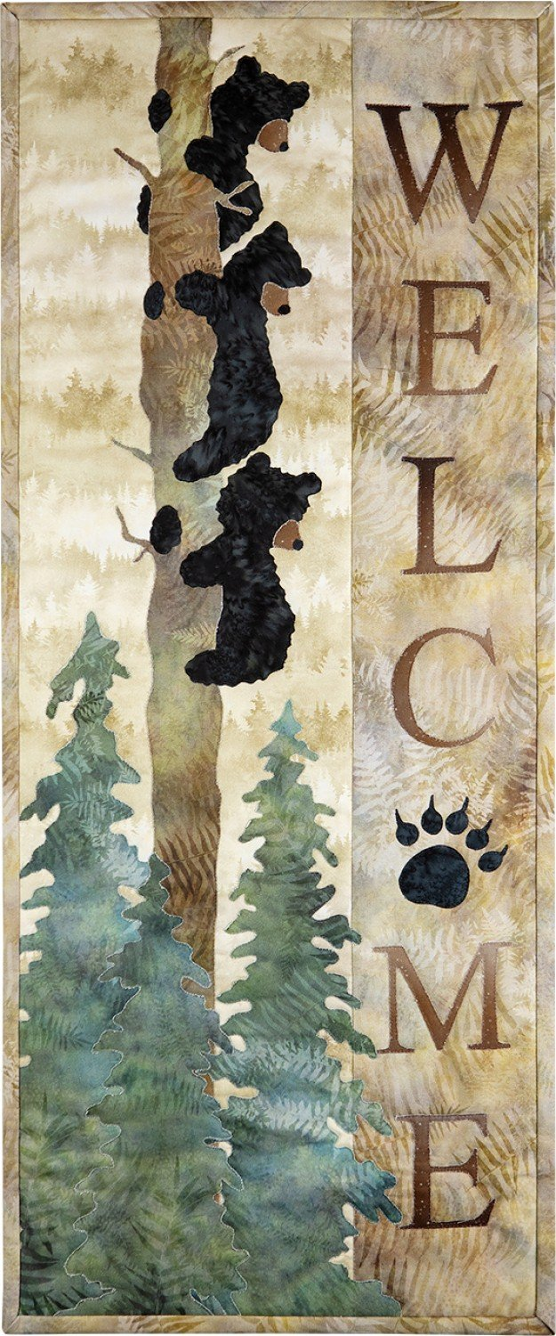 Laser Cut Fabric Kit for Welcome Bear Inn - *SPECIAL ORDER*