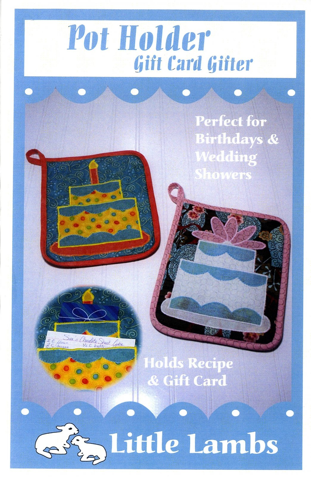 Pot Holder Gift Card Gifter