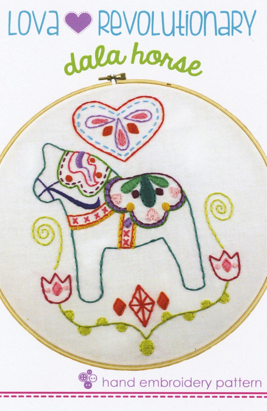 Dala Horse Embroidery