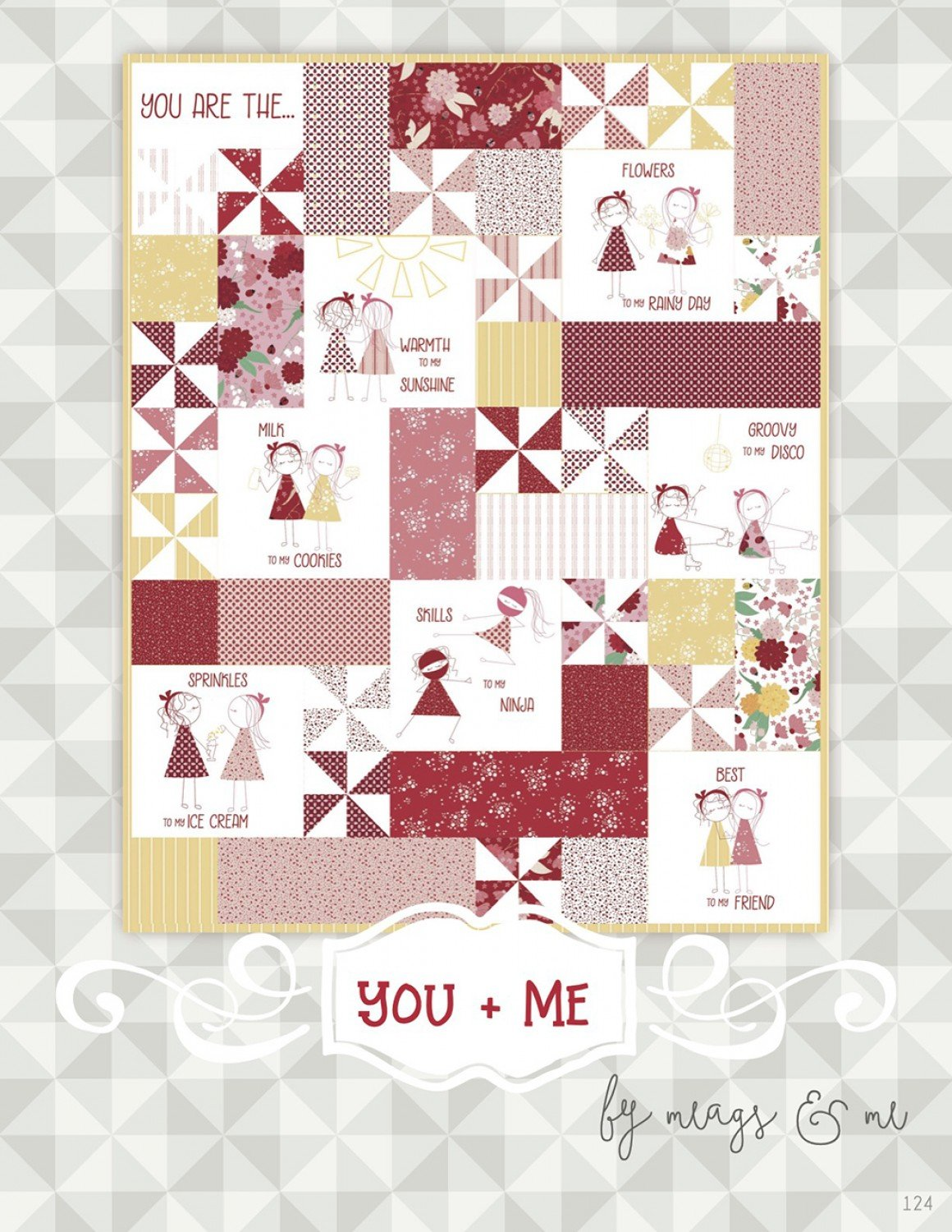You + Me Hand Embroidery ~ RELEASE DATE AUG 1/21 ~