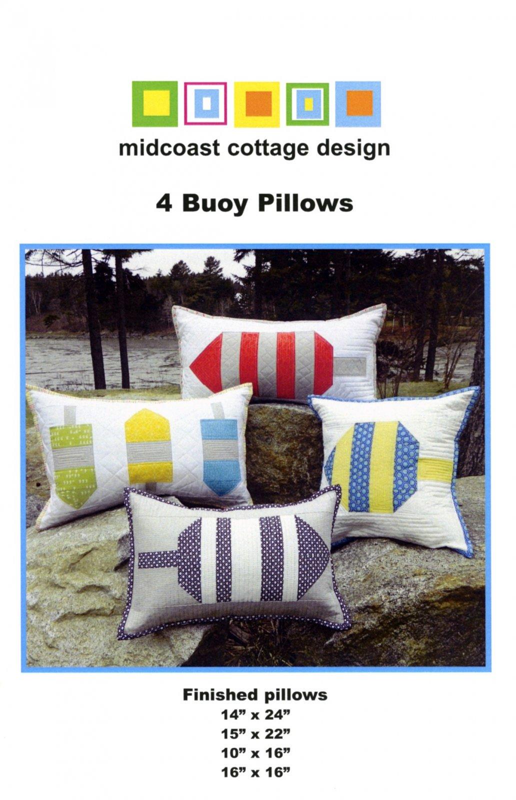 4 Buoy Pillows Pattern