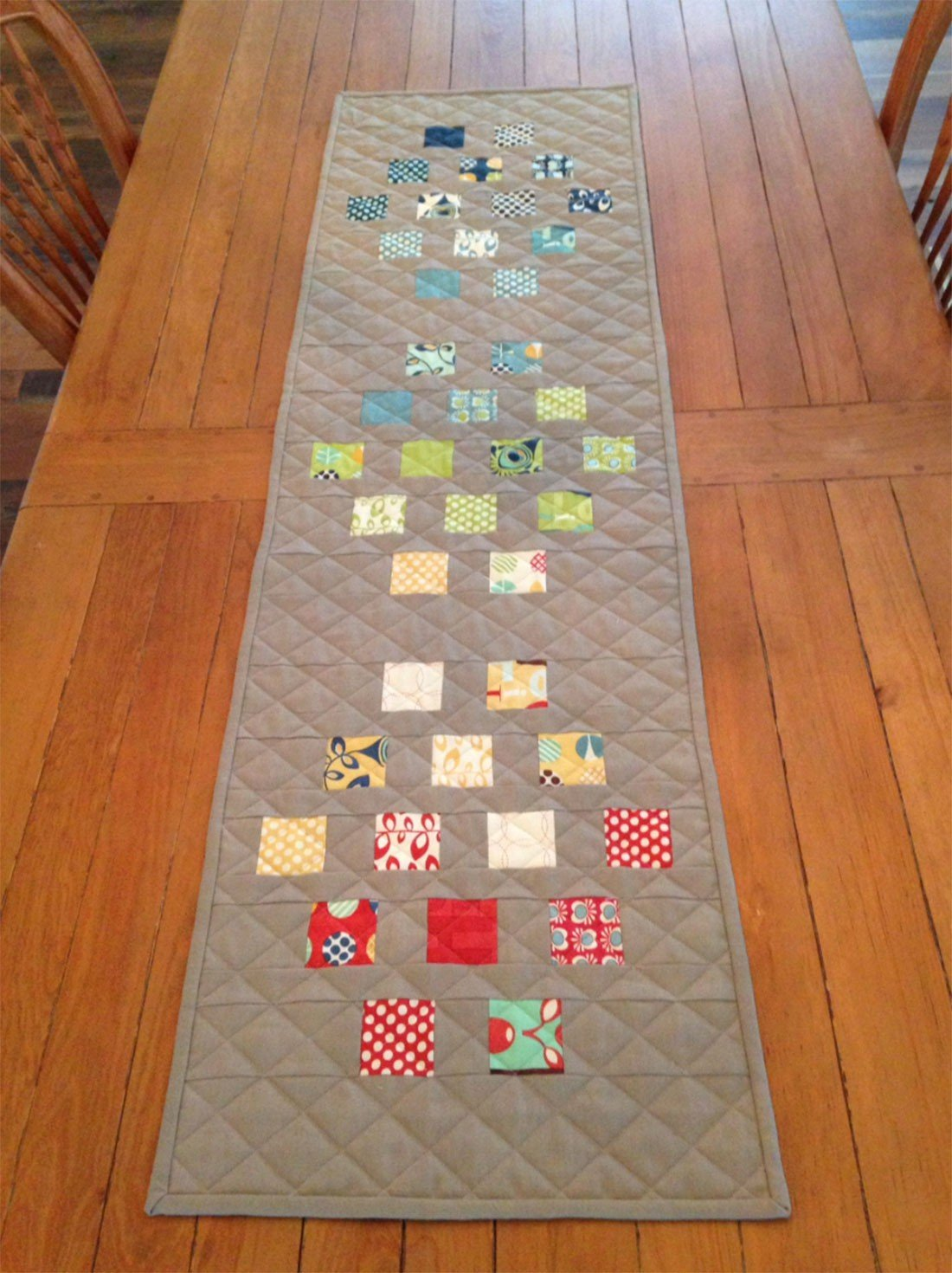 Stepping Stones Table Runner