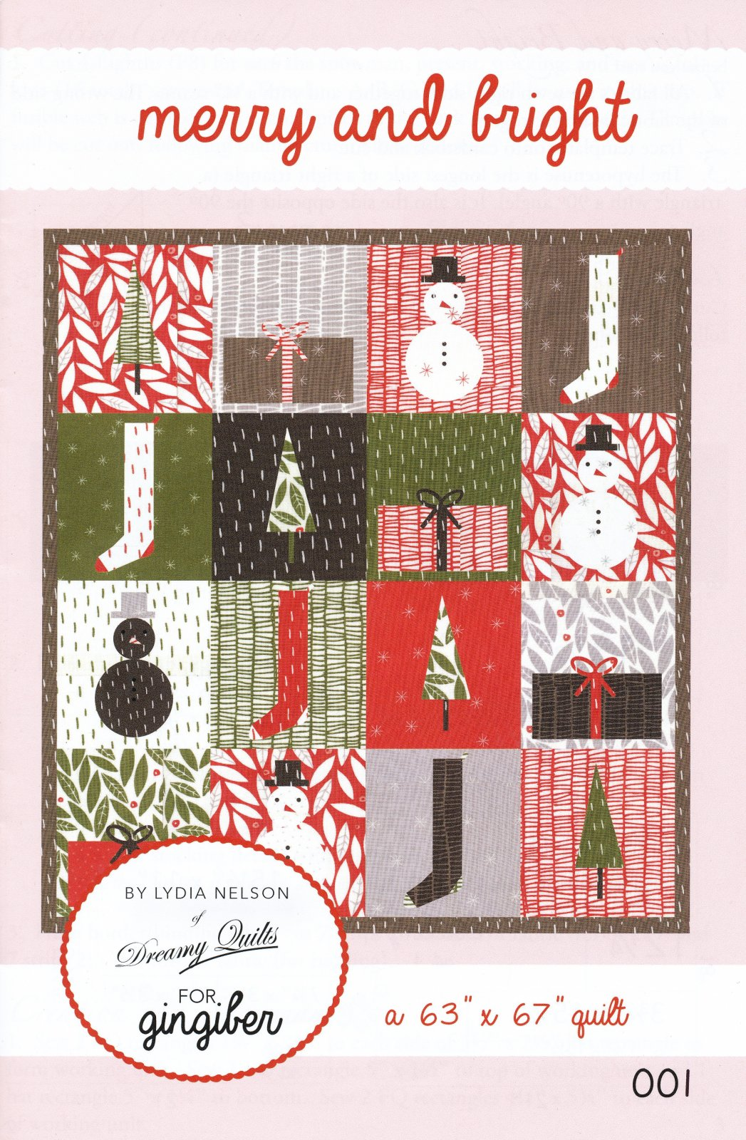 Merry and Bright Quilt Kit