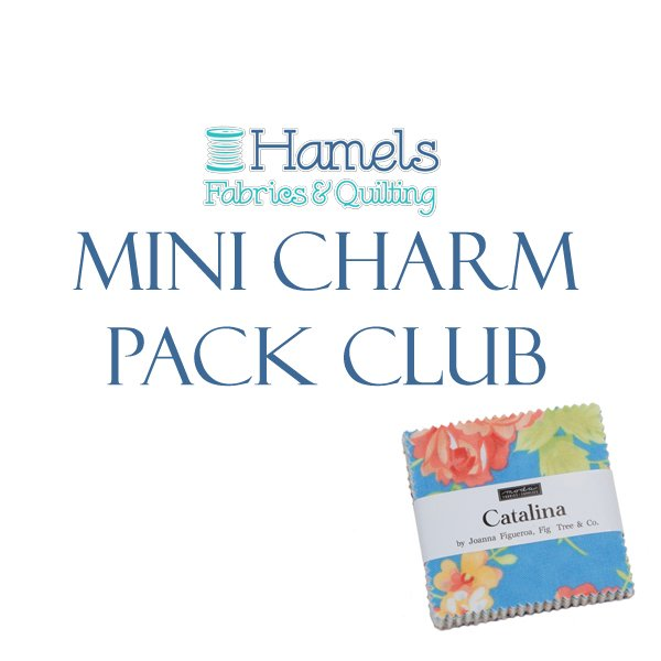 Precut Mini Charm Pack Club - The Latest & Greatest