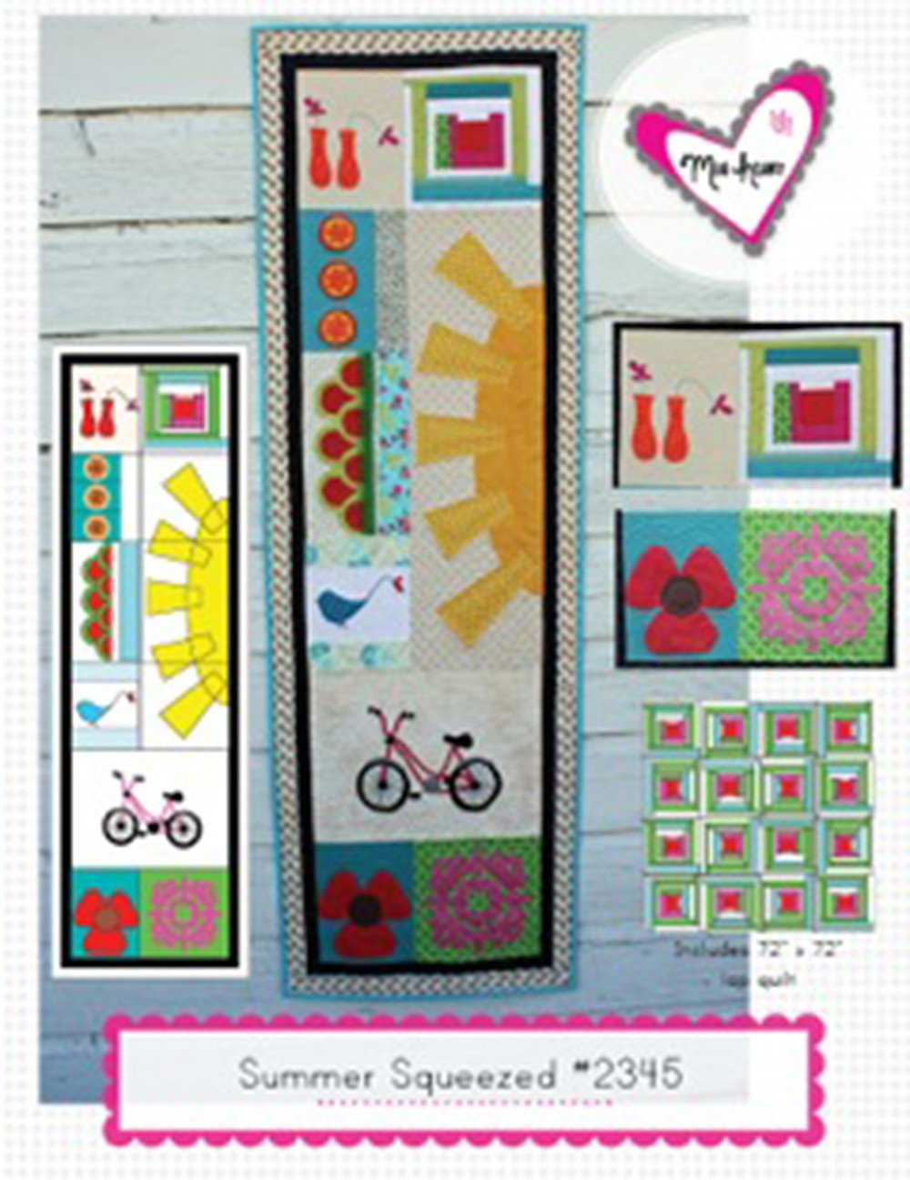 Summer Squeezed Quilt