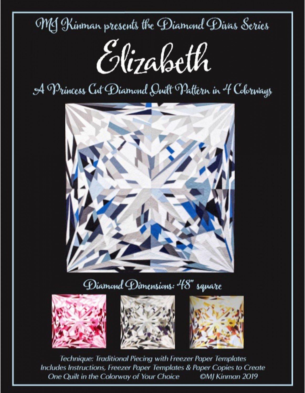 Elizabeth Princess Cut Diamond Quilt Pattern