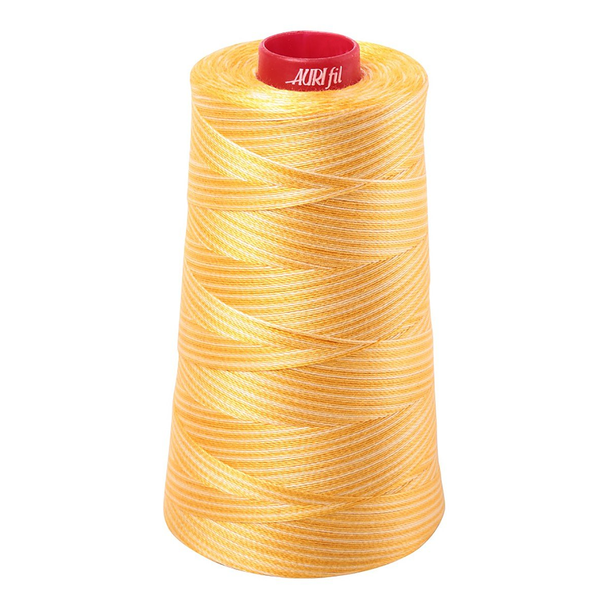 Mako (Cotton) Embroidery Thread 12wt 1931yd Variegated Golden Glow