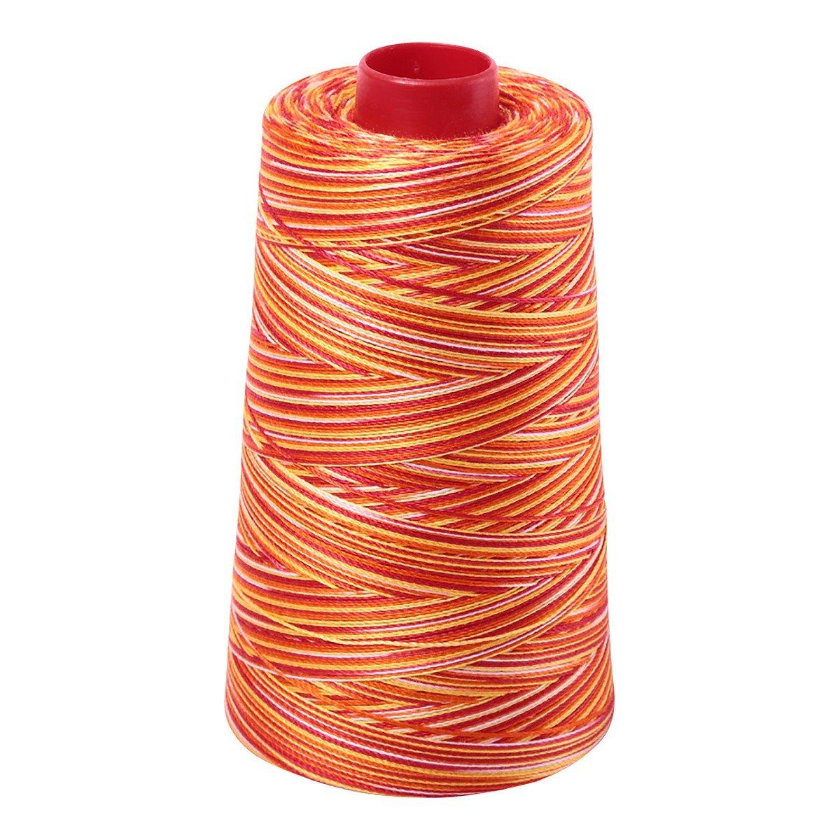 Mako (Cotton) Embroidery Thread 12wt 1931yd Variegated Tramonto a Zoagli