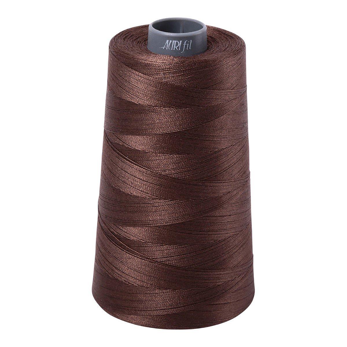 Mako (Cotton) Embroidery Thread 28wt 3609yds Bark