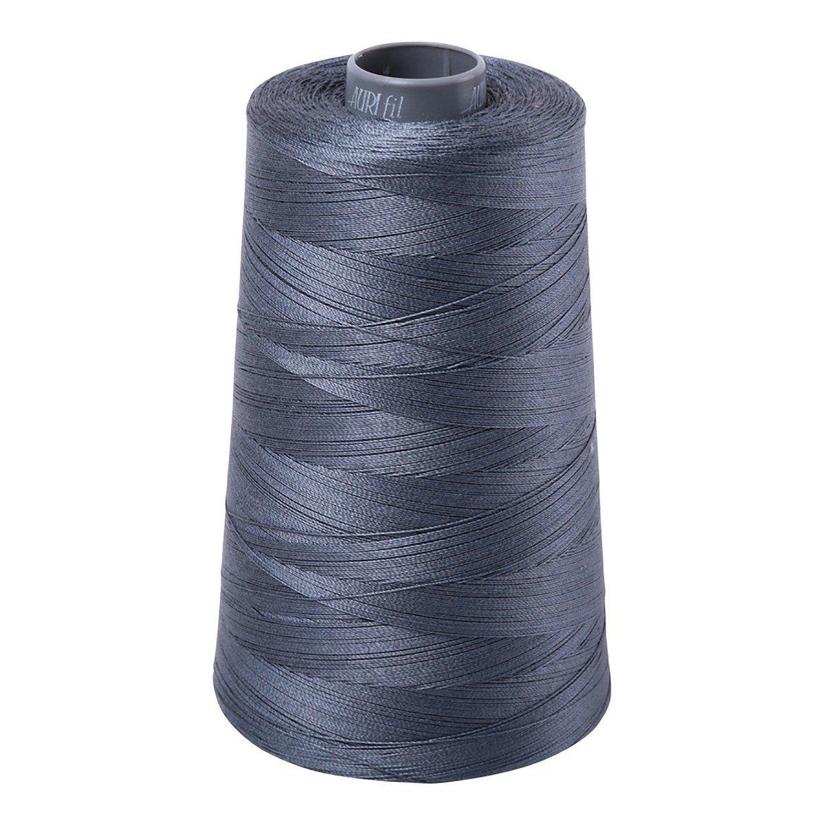 Mako (Cotton) Embroidery Thread 28wt 3609yds Dark Grey