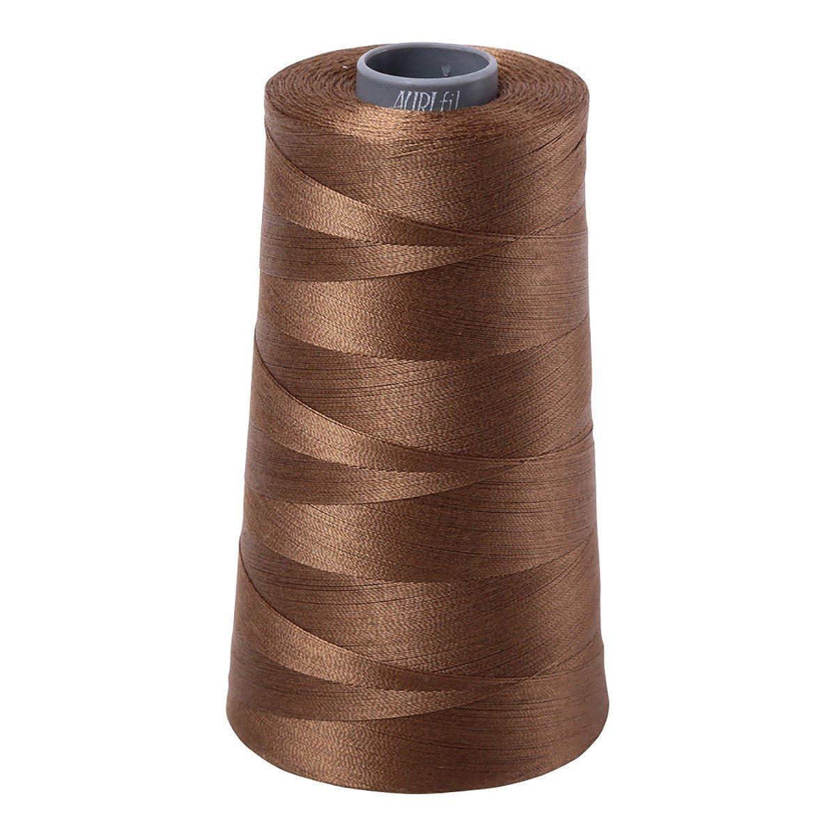 Mako (Cotton) Embroidery Thread 28wt 3609yds Dark Sandstone