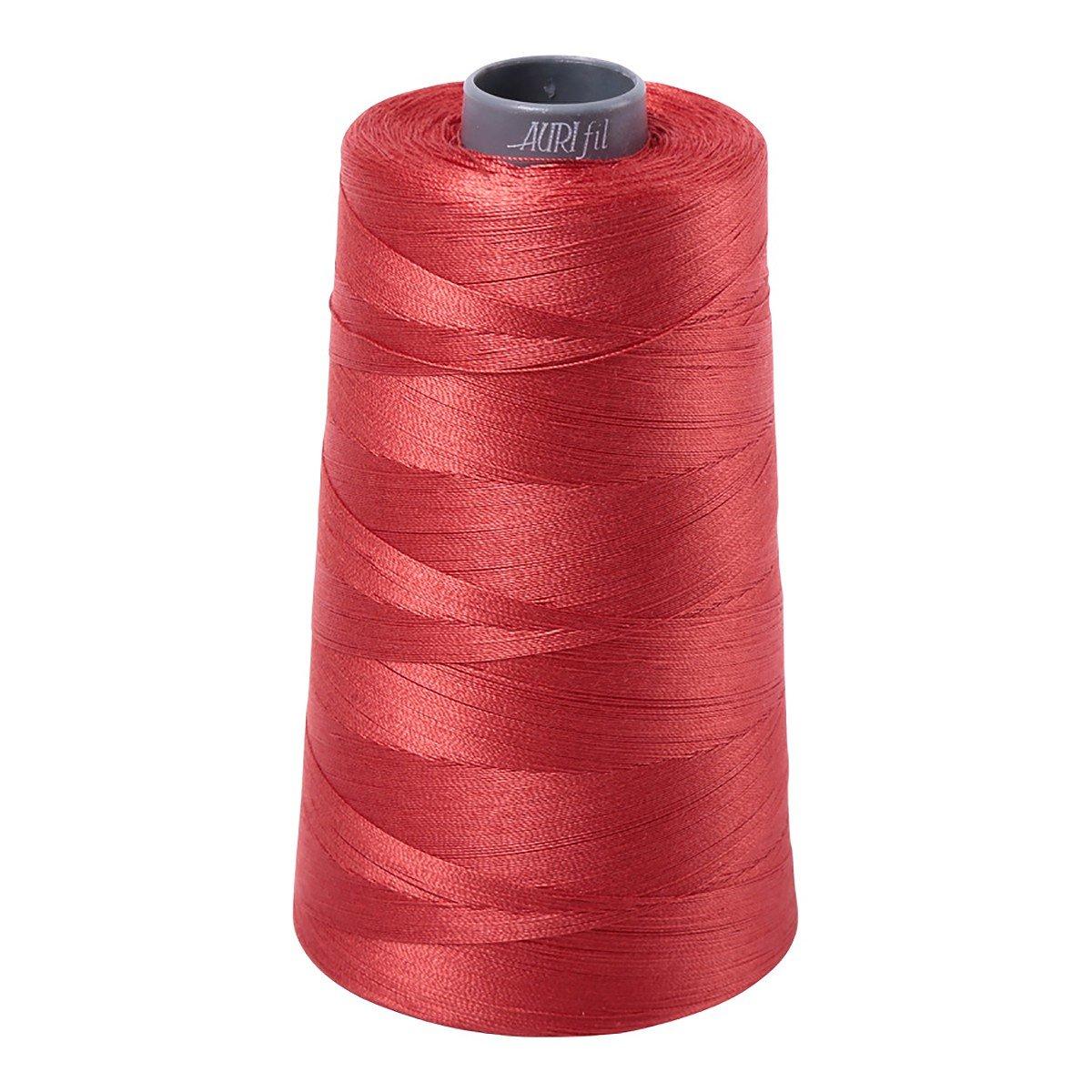 Mako (Cotton) Embroidery Thread 28wt 3609yds Dark Red Orange