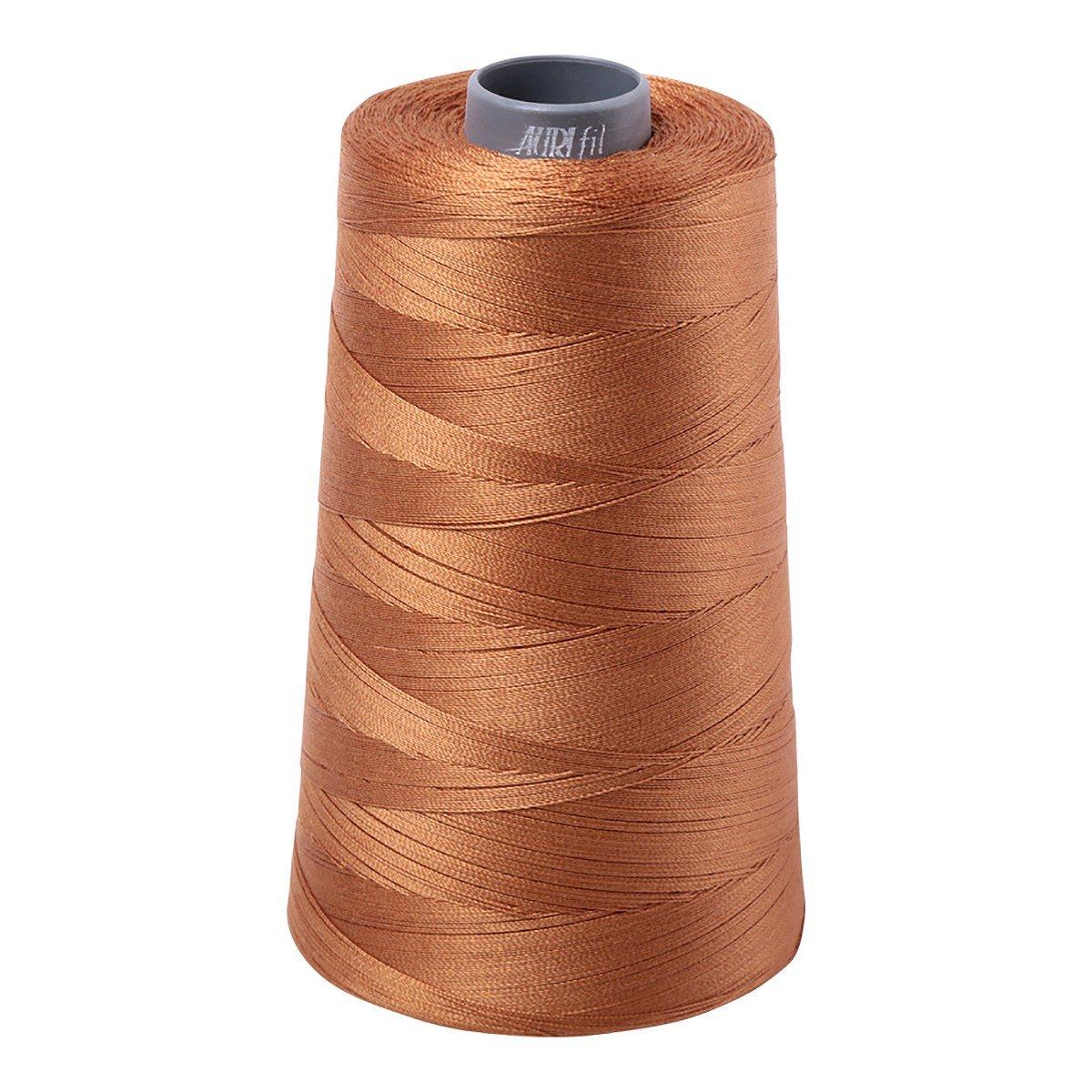 Mako (Cotton) Embroidery Thread 28wt 3609yds Light Cinnamon