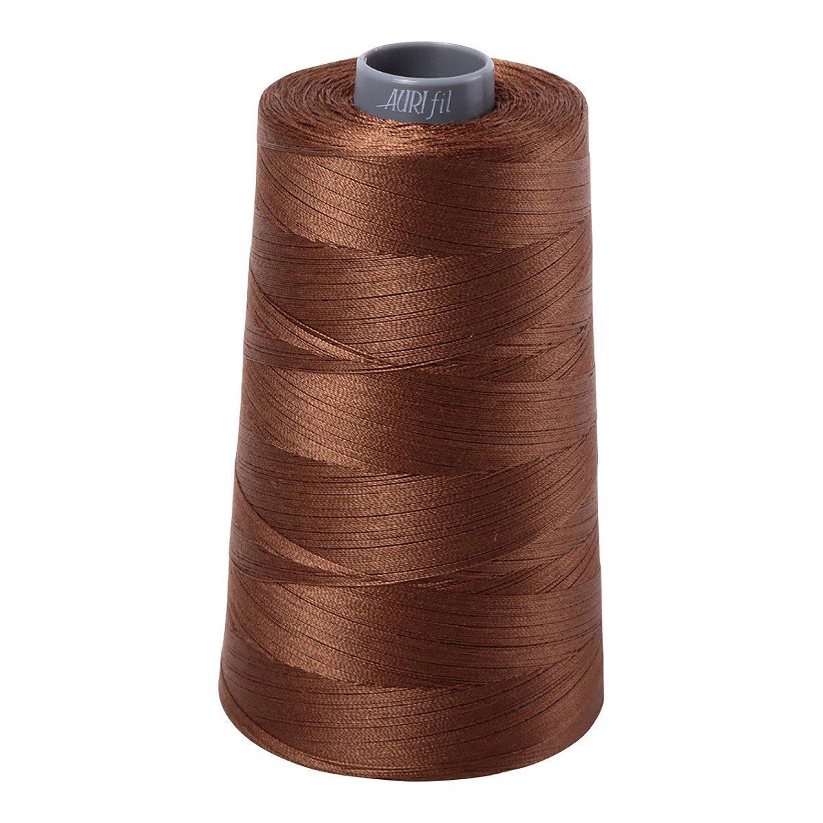 Mako (Cotton) Embroidery Thread 28wt 3609yds Dark Antique Gold