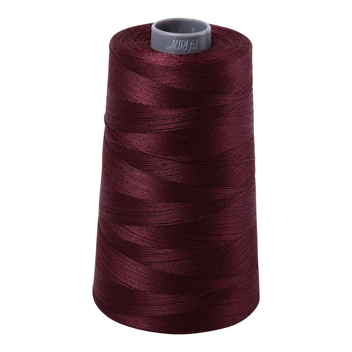 Mako (Cotton) Embroidery Thread 28wt 3609yds Dark Wine