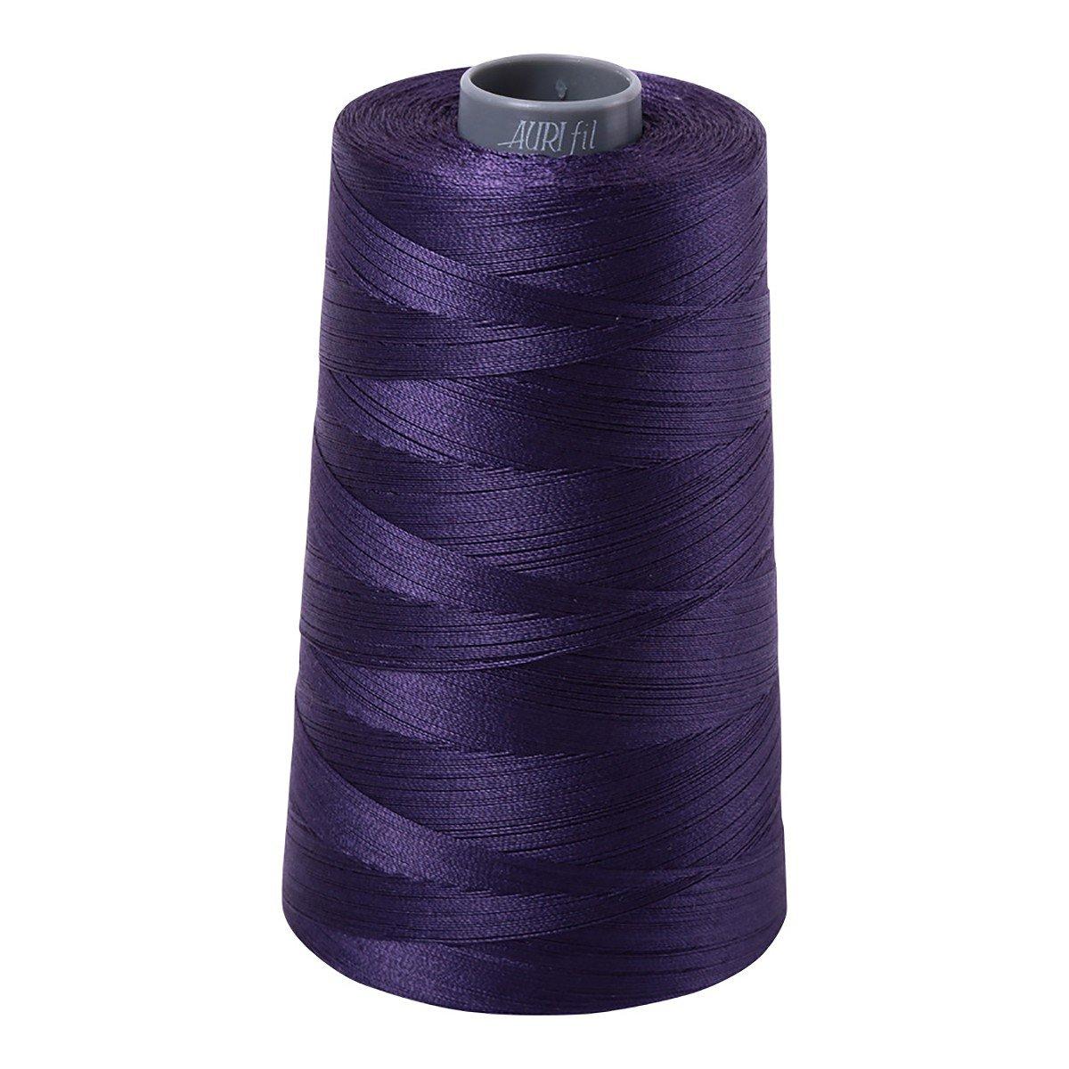 Mako (Cotton) Embroidery Thread 28wt 3609yds Dark Dusty Grape