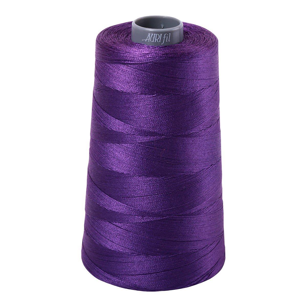 Mako (Cotton) Embroidery Thread 28wt 3609yds Dark Violet