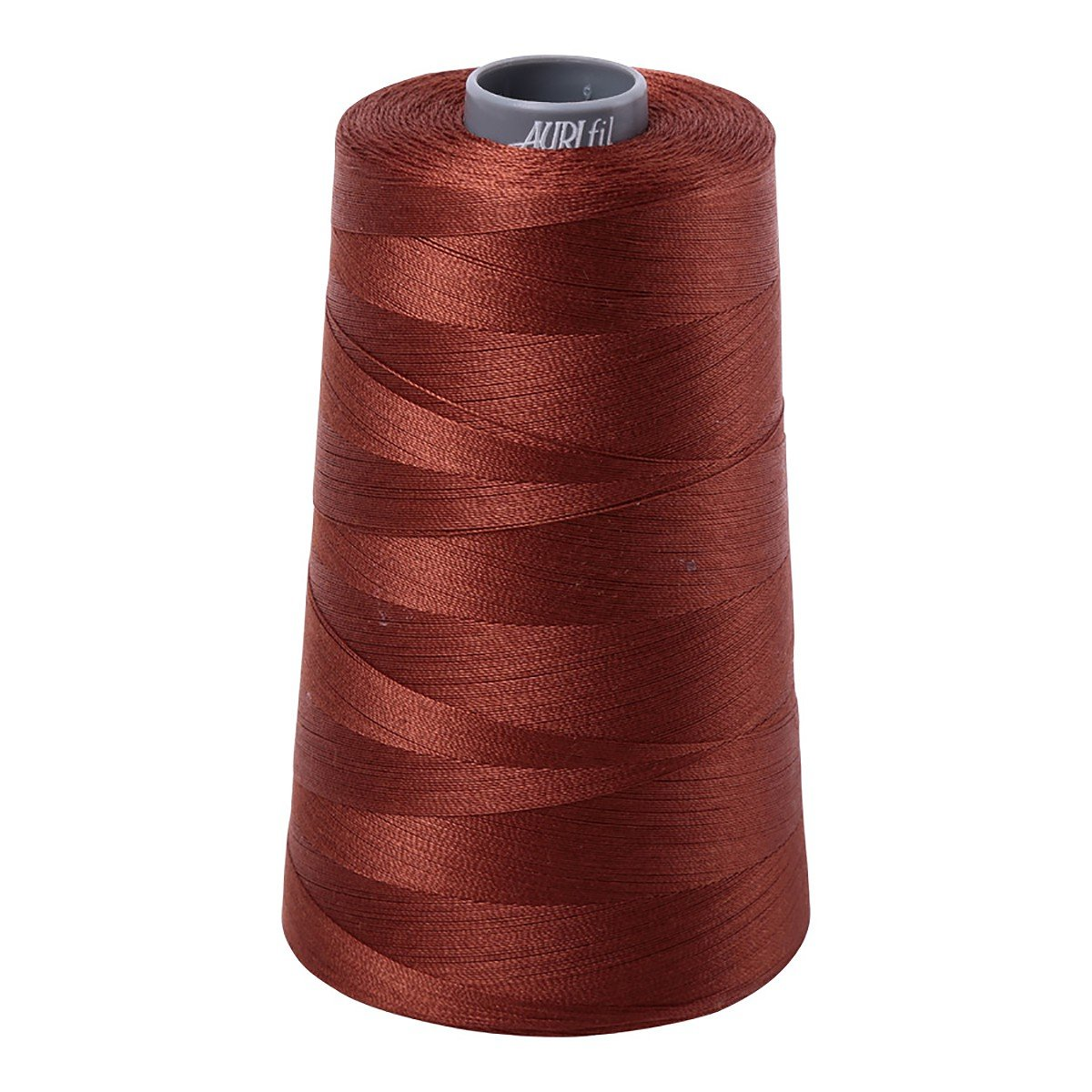 Mako (Cotton) Embroidery Thread 28wt 3609yds Copper Brown