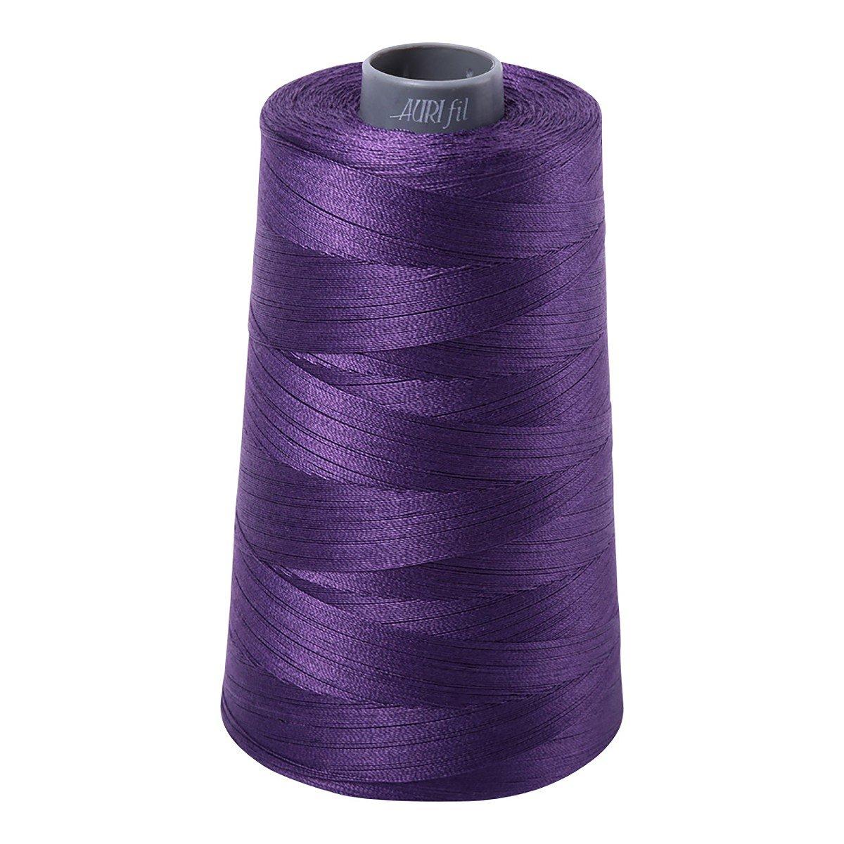 Mako (Cotton) Embroidery Thread 28wt 3609yds Eggplant