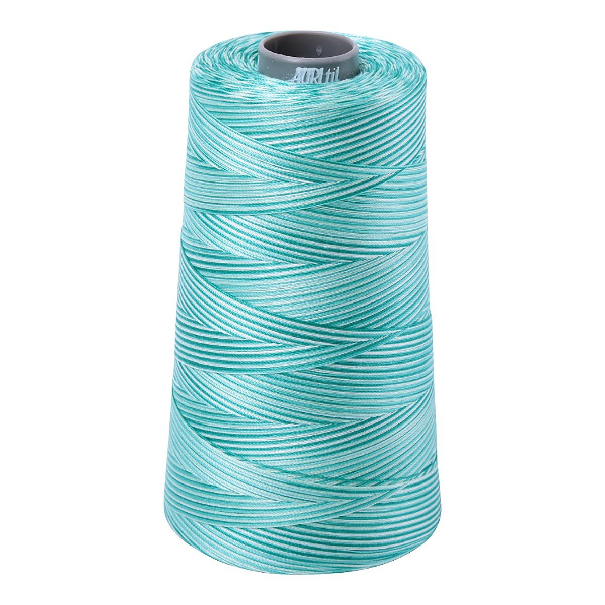 Mako (Cotton) Embroidery Thread 28wt 3609yds Variegated Turquoise Foam