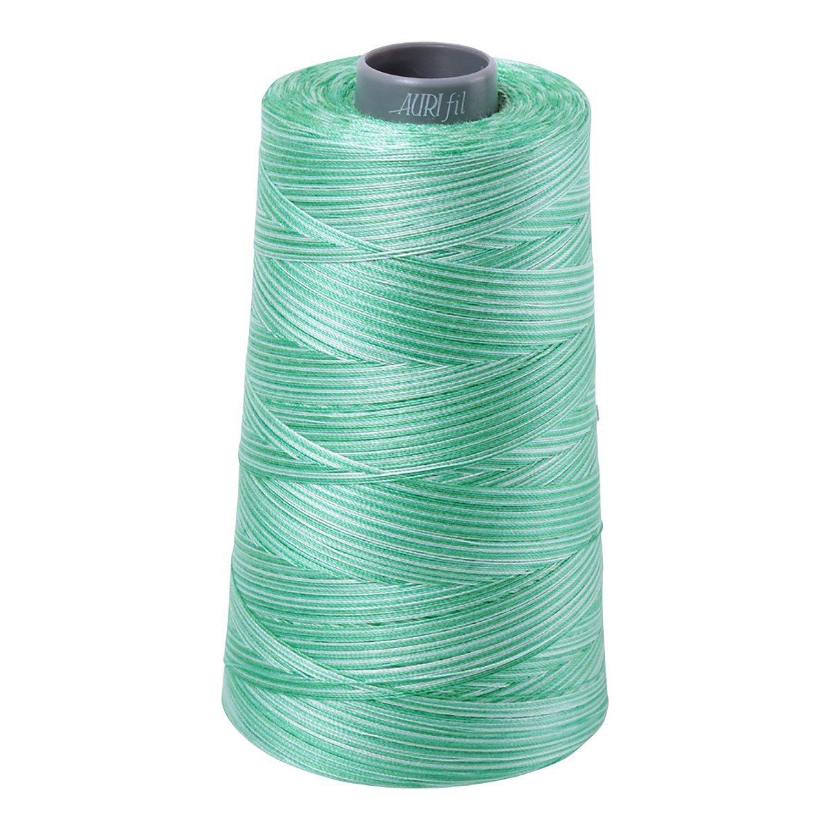 Mako (Cotton) Embroidery Thread 28wt 3609yds Variegated Mint Julep