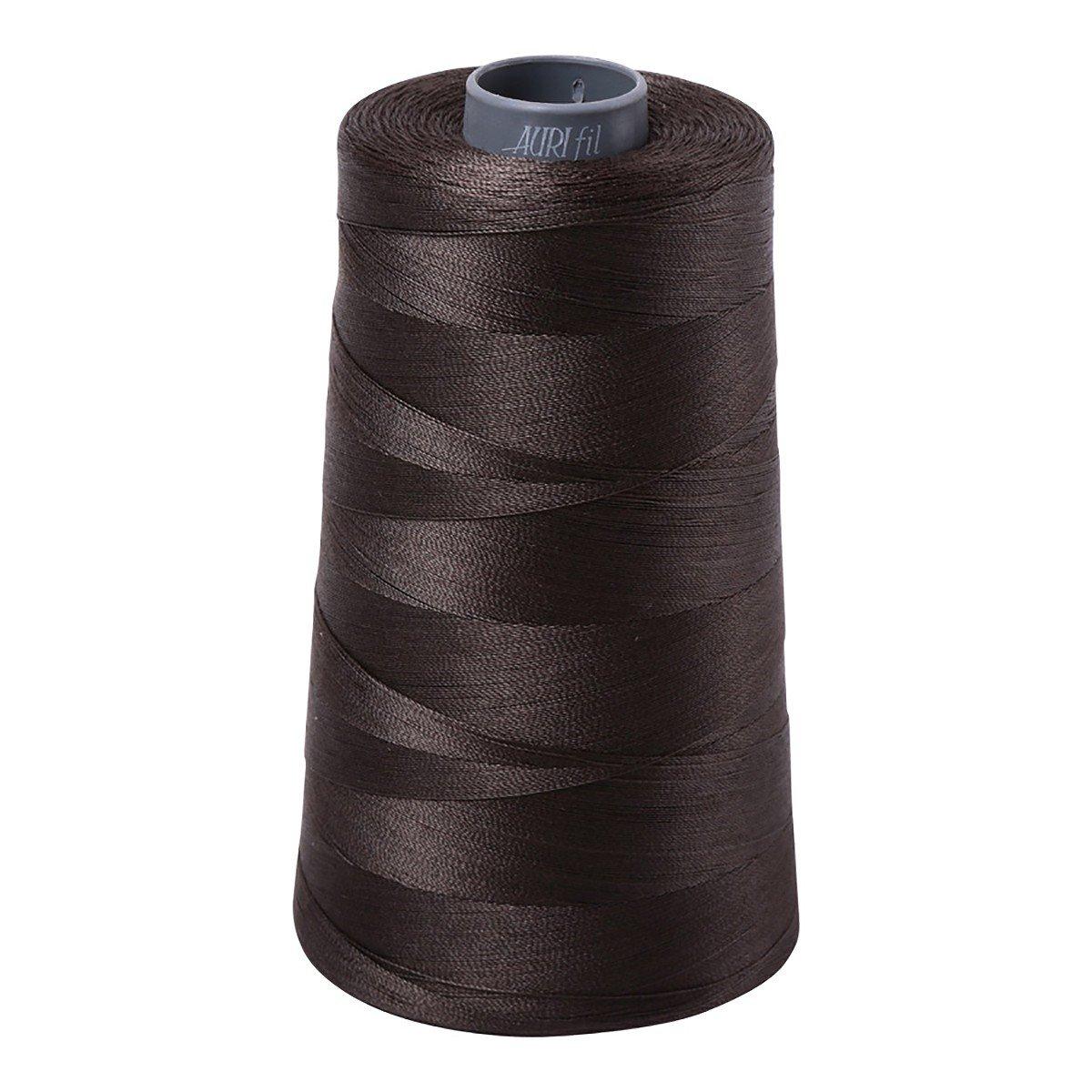 Mako (Cotton) Embroidery Thread 28wt 3609yds Asphalt