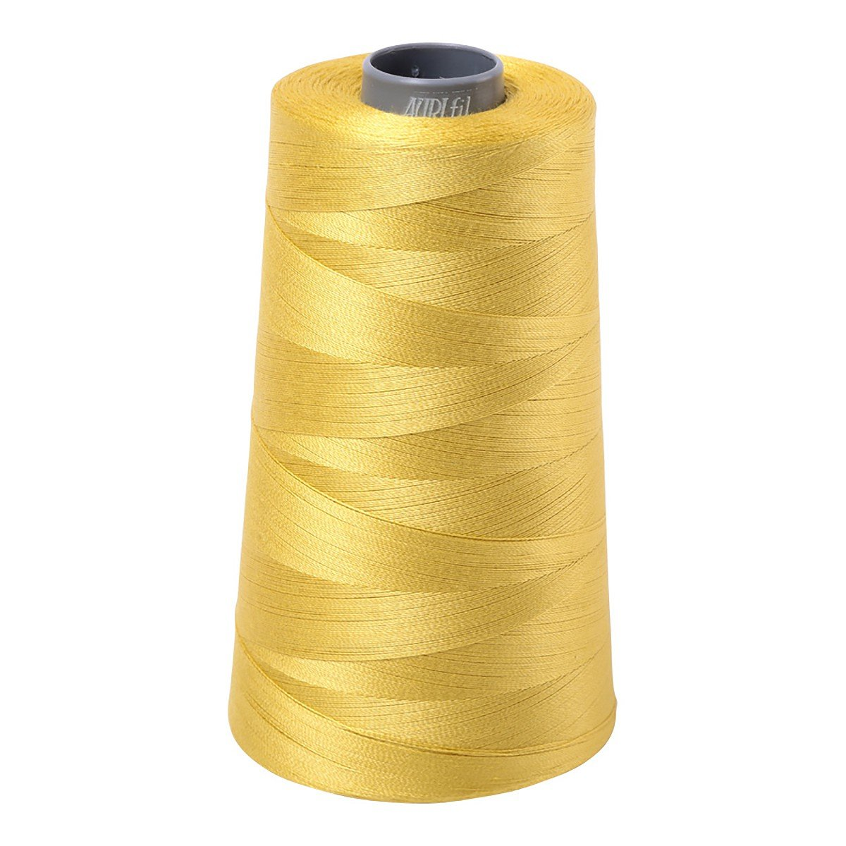 Mako (Cotton) Embroidery Thread 28wt 3609yds Gold Yellow