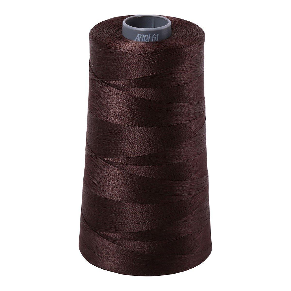 Mako (Cotton) Embroidery Thread 28wt 3609yds Dark Brown
