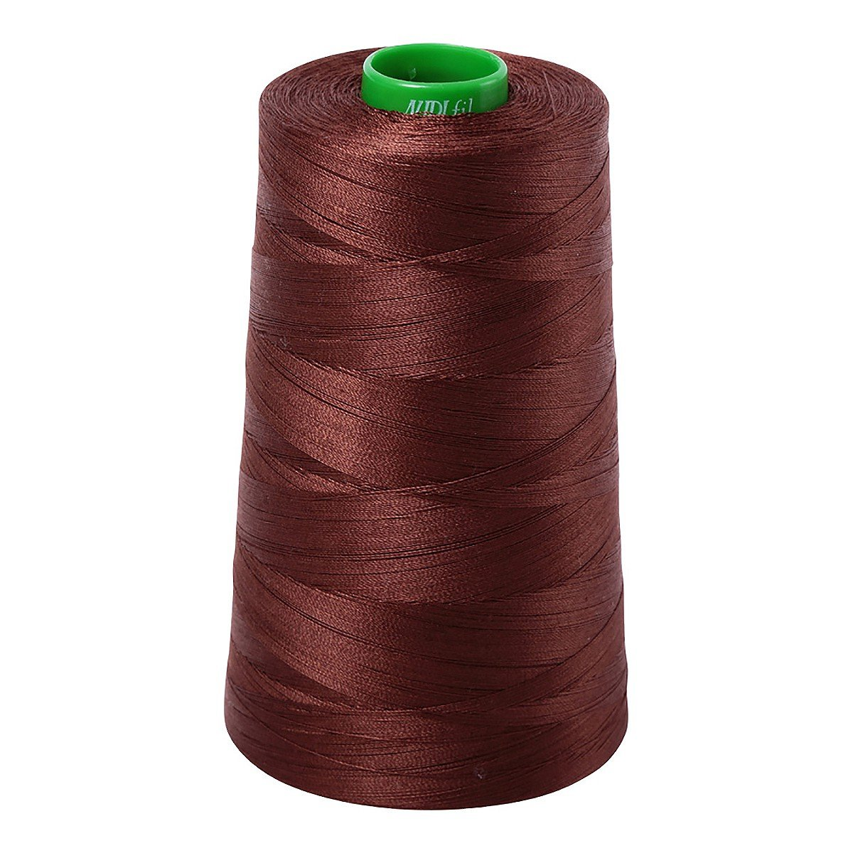Mako (Cotton) Embroidery Thread 40wt 5140yds Chocolate