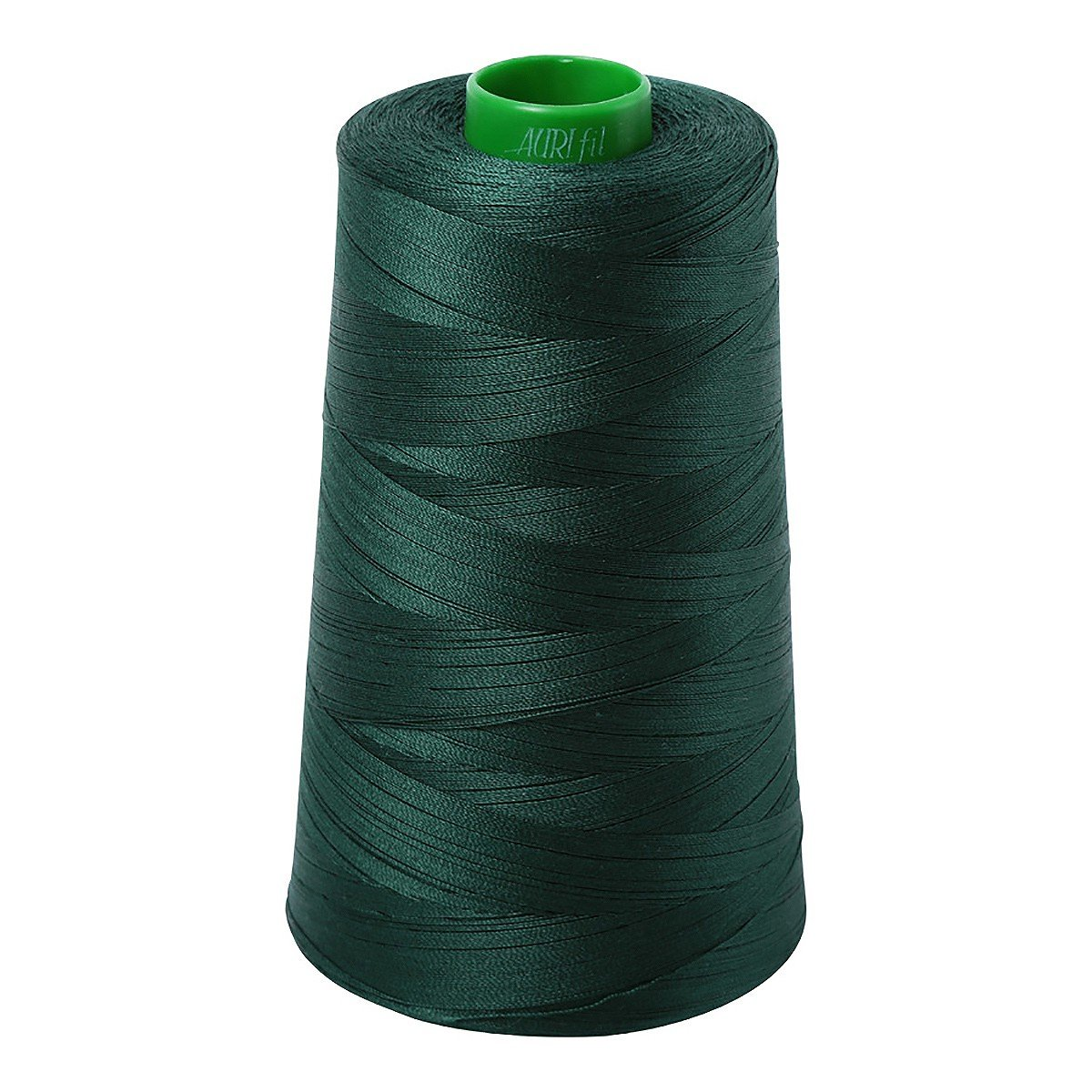 Mako (Cotton) Embroidery Thread 40wt 5140yds Forest Green