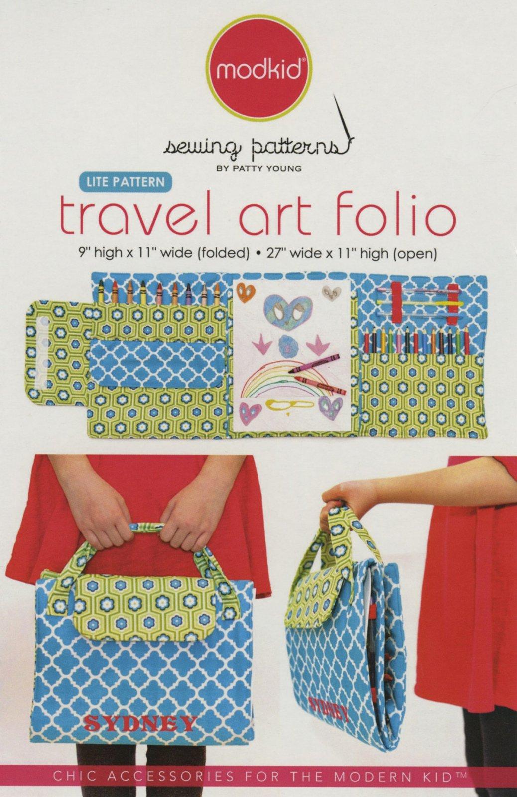 Travel Art Folio