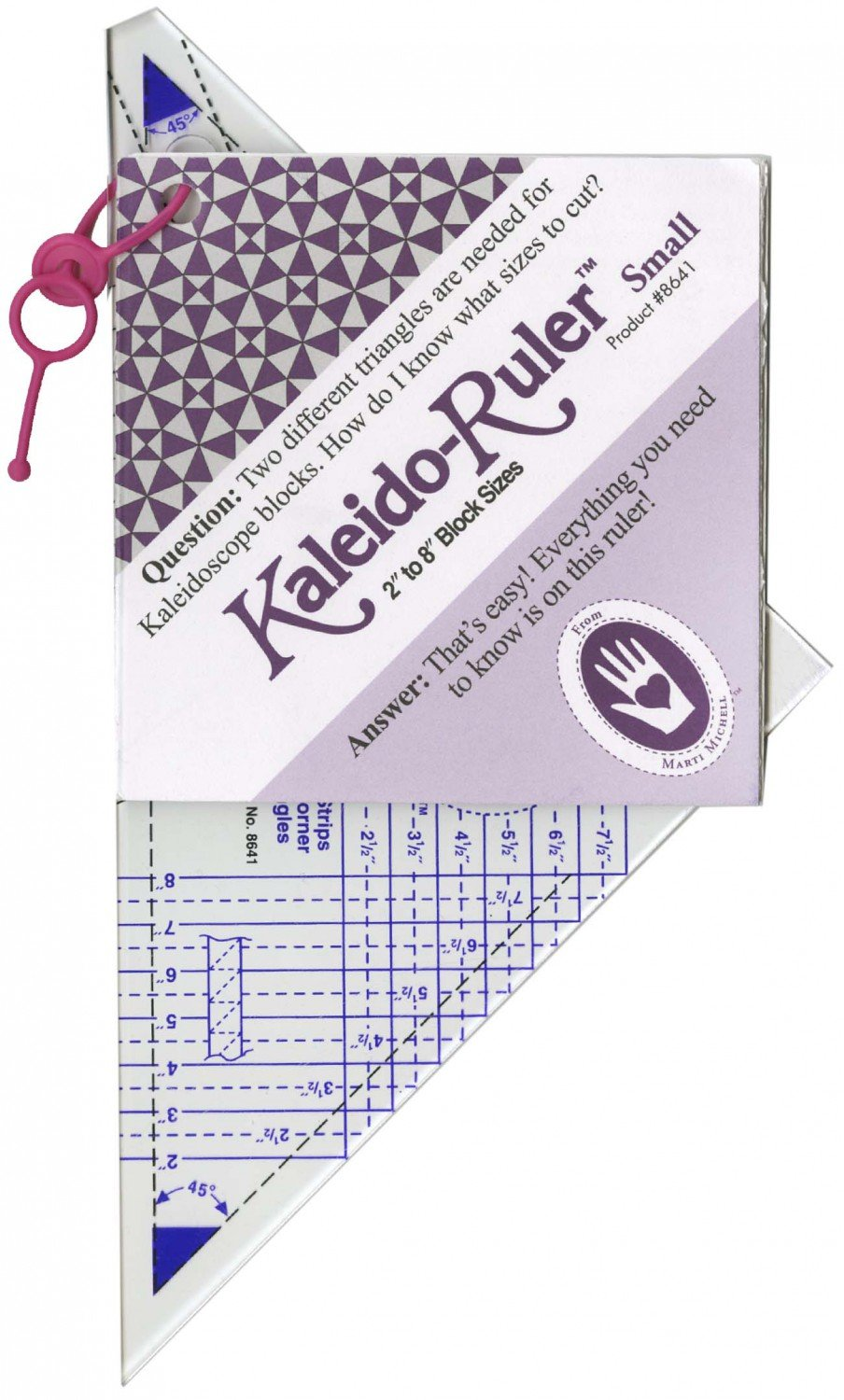 Small Kaleidoscope Ruler 2in to 8in