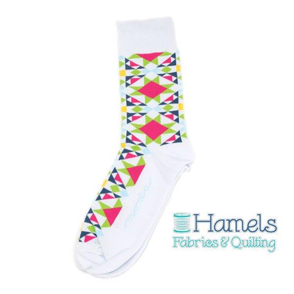 Moda Fun Stuff Socks 4-Quilt Block