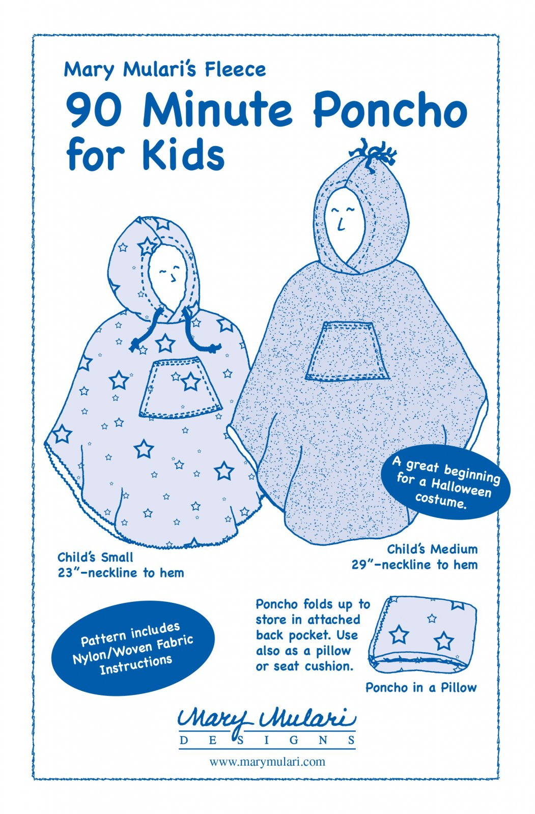 90 Minute Poncho for Kids