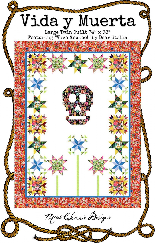Vida y Muerta Quilt Pattern