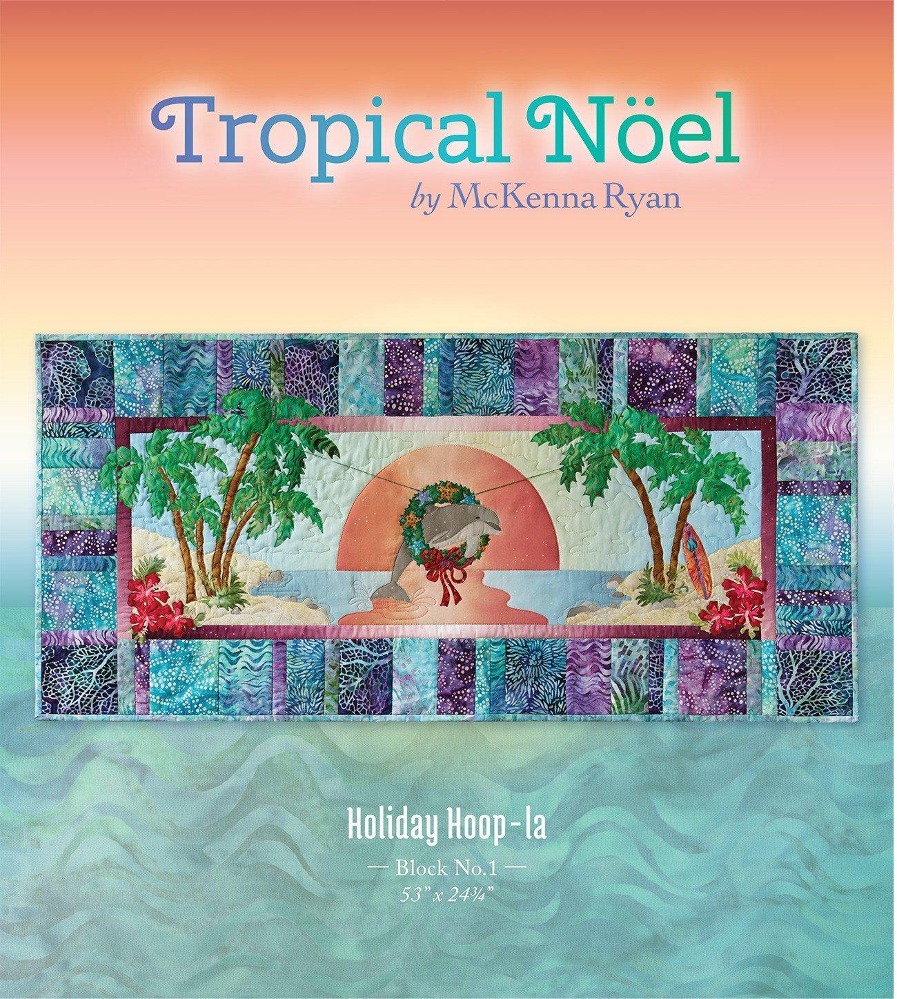 Tropical Noel Holiday Hoop-la