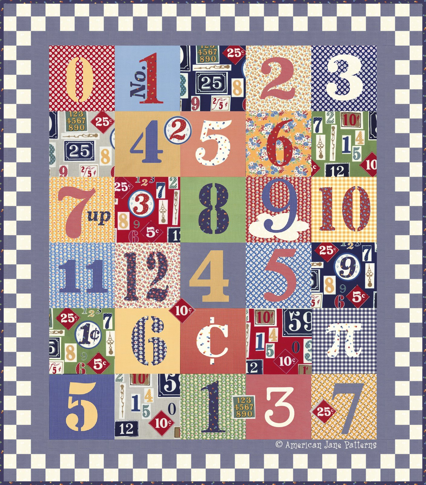 Number Sense Quilt Kit