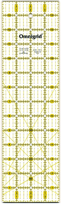 Omnigrid Ruler 4in x 14in