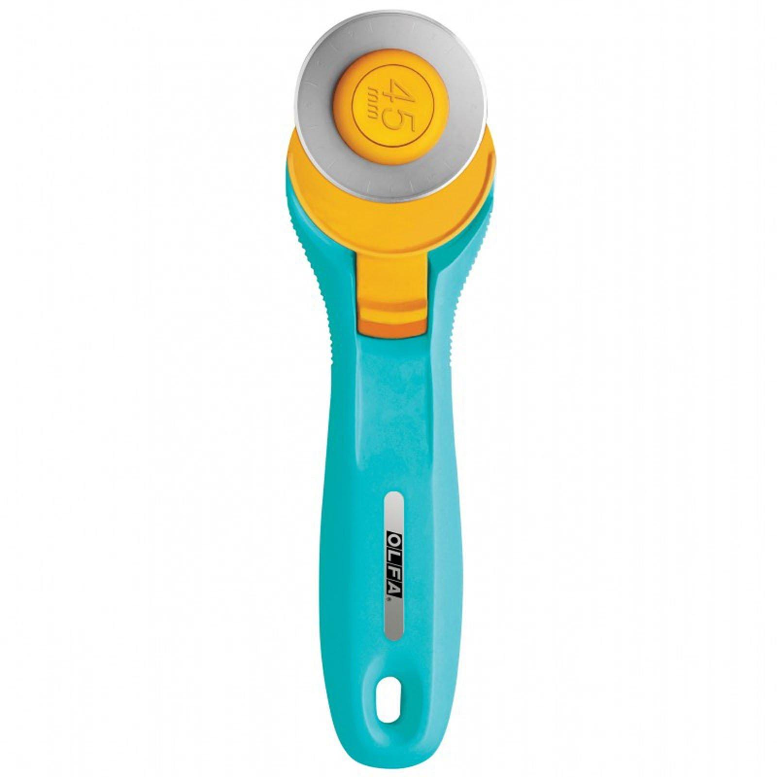 Olfa Splash Rotary Cutter - Aqua